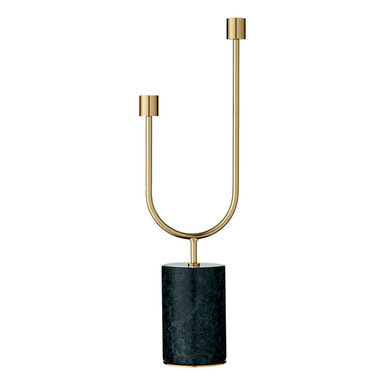 AYTM - GRASIL candle holder (forest/gold)